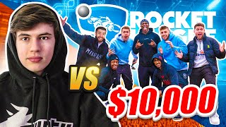 7 SIDEMEN VS 1 ROCKET LEAGUE PRO for $10,000