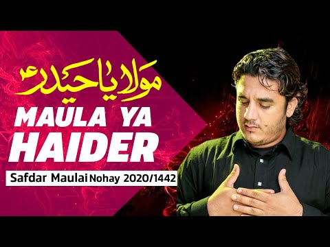 New Nohay 2020  Safdar Maulai |  Ya Ali Jaanam Nohay 2020