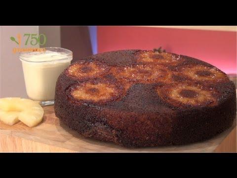 gâteau-au-yaourt-à-l'ananas---750g