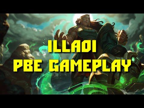 видео: league of legends - illaoi ПБЕ геймплей!