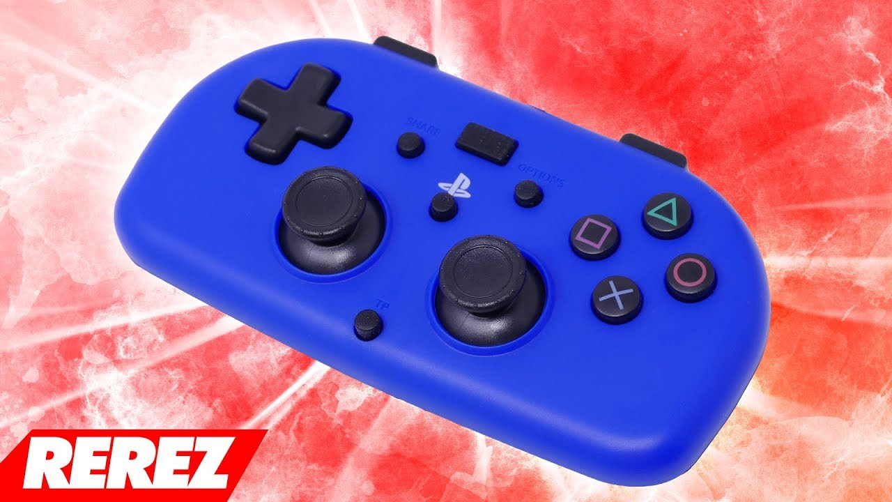 HORI Mini PS4 Controller Review - Rerez