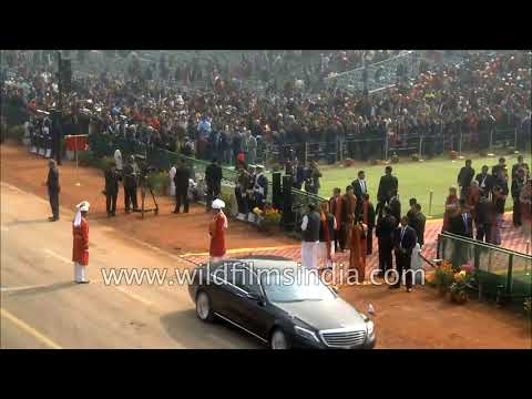 Foreign dignitaries and heads of state welcomed in India