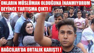 Onların Müslüman Olduğuna İnanmıyorum Deyince Ortalık Karıştı !