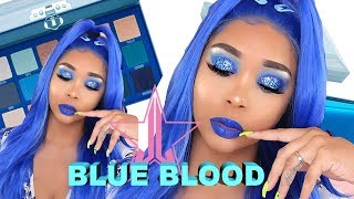 JEFFREE STAR COSMETICS BLUE BLOOD TUTORIAL