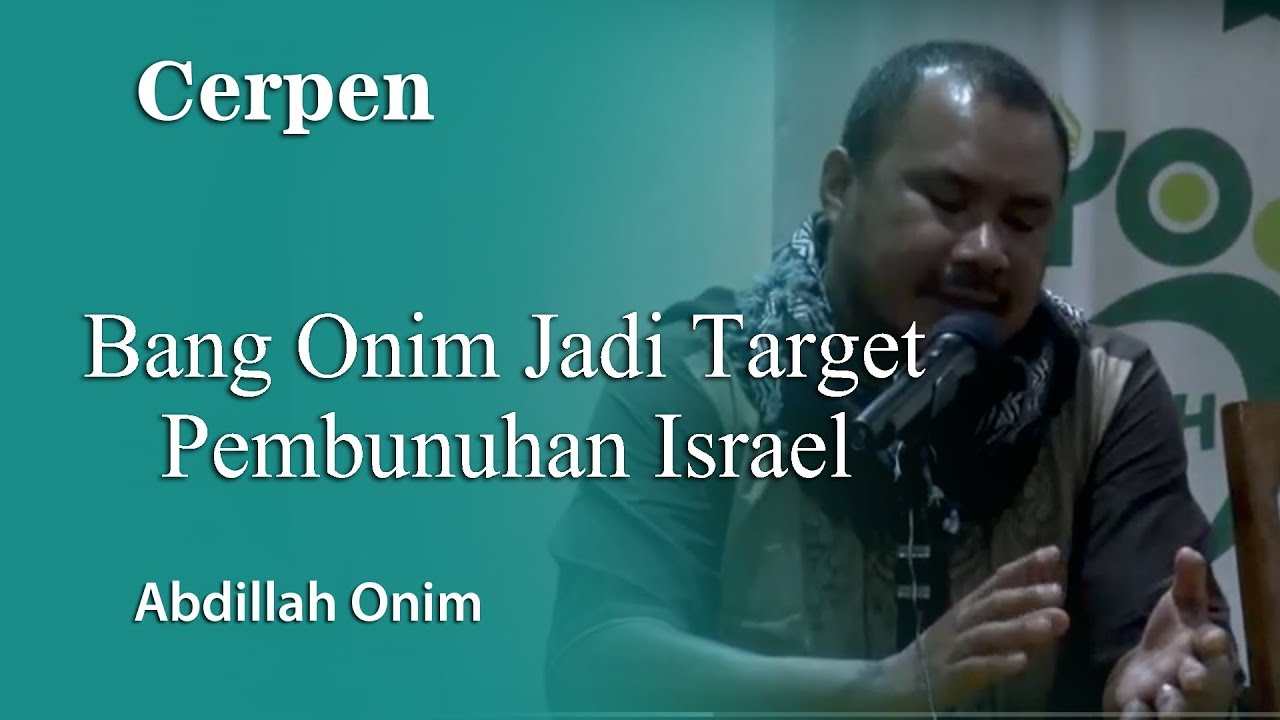Download Bang Onim Jadi Target Pembunuhan Israel