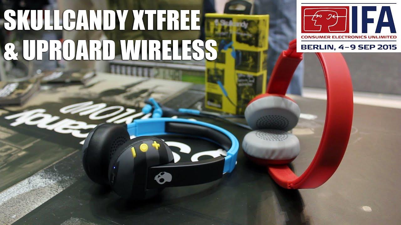 Ifa 2015 Skullcandy Xtfree Amp Uproar Wireless Headphones