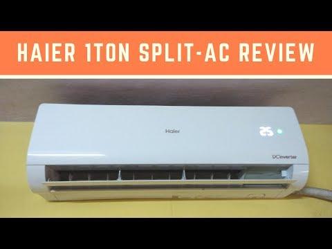 Haier 1 Ton 3 Star (2018) Inverter Split AC (Copper, HSU-12NMW3) Review