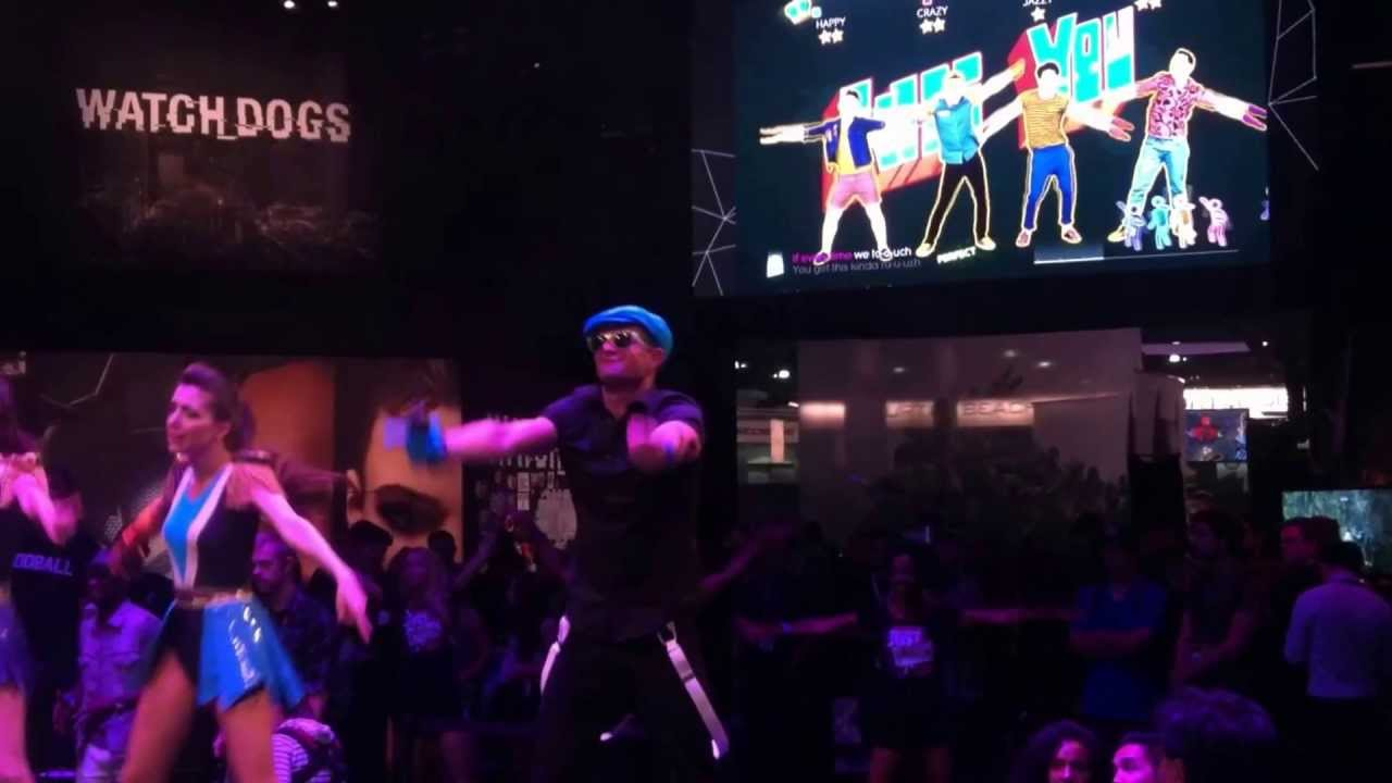 Just Dance 2014 - Ubisoft - E3 Video Game Demonstration - One Direction - Kiss You