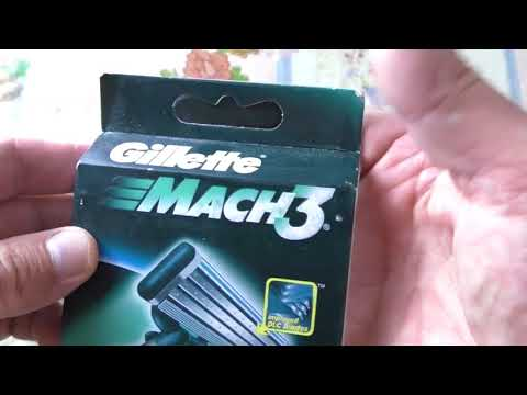 Как отличить ПОДДЕЛКУ Gillette Mach 3