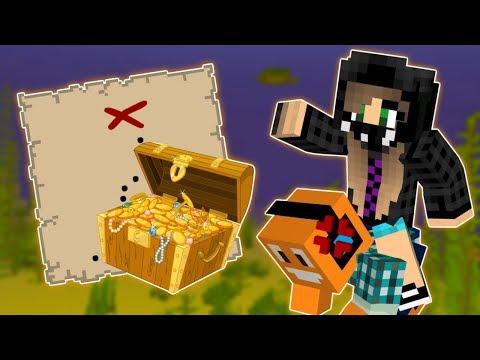"Minecraft AQUA #5 - ""Wyprawa po skarb!"" w/ Akiri"