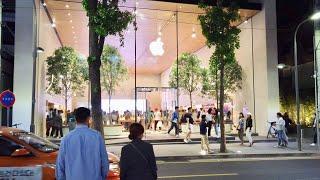Gambar cover Nightwalk to Apple Store Garosu-Gil│Seoul in Korea│4K 60fps POV