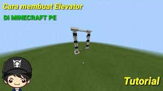 Tutorial cara membuat Elevator simple Di MINECRAFT PE