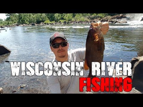 Wisconsin River Fishing - Vlog #1