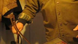 How to thread a steel rod