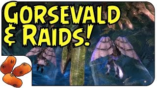 Heart of Thorns - Raiding Second Boss Gorseval is INTENSE