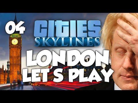 Cities: Skylines London Let's Play - FULL MILTON KEYNES! Part 4