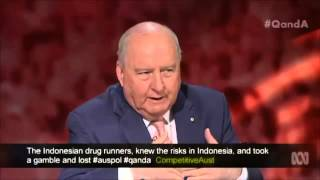 alan jones slams australian federal police over looming bali nine executions on q video