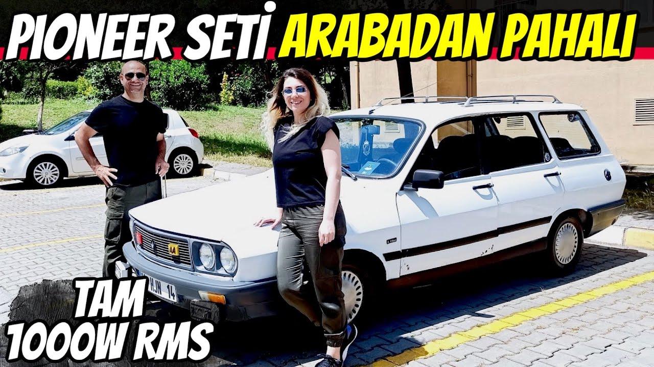 ARABACI KADINLAR | Kübra'nın 1000W Pioneer'lı Renault 12 Toros
