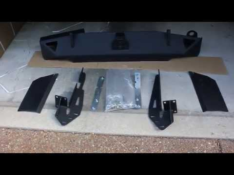 Smittybilt XRC 76851 Cherokee XJ Rear Bumper Unboxing