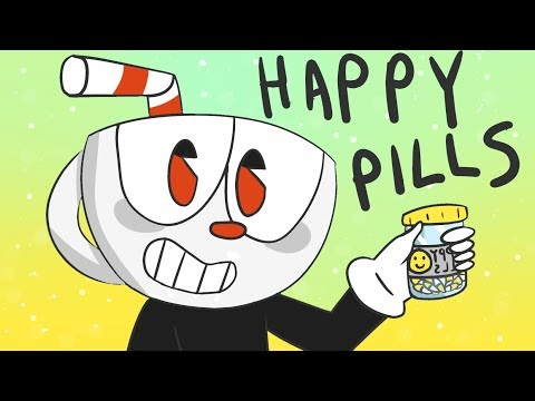 |ANIMATION| CUPHEAD - HAPPY PILLS (FLASHING LIGHTS)