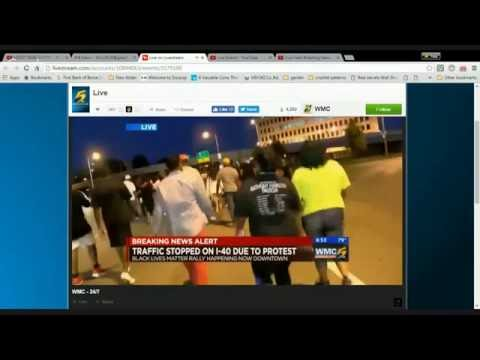 Live Feed Breaking News from Memphis on BLM Protest