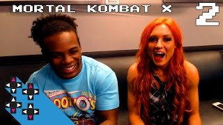 Becky Lynch & Mortal Kombat X Part 2: Becky's seasonal M&M's love — Superstar Savepoint