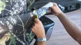 Part 4 of 6 - How to Videos Truck Camouflage Install - Official Camoclad Video