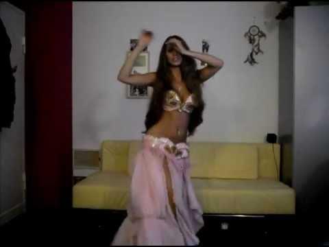 Shik Shak Shok -Mezdeke  رقص شرقى Isabella Belly Dance HD