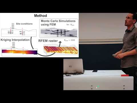 Master's Thesis Presentation in Spatial variation in Geotechnics - 9 June 2017