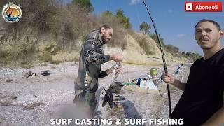 surf casting ÇANAKKALE BALIK AVI SURF CASTİNG SURF FİSHİNG