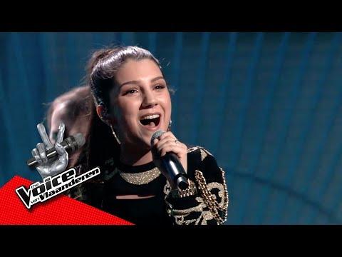 Sima 'goes ghetto' met 'Work Hard, Play Hard' | Liveshows | The Voice van Vlaanderen | VTM