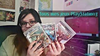 Ma collection de jeux PS3 (2017)