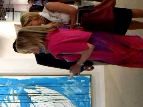 Begum Inaara Aga Khan auf Shoppingtour ART BASEL 2011