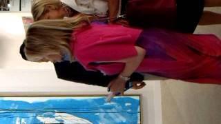 Begum Inaara Aga Khan auf Shoppingtour ART BASEL 2011