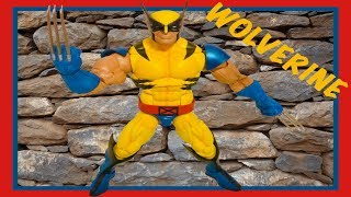 Unboxing And Review Of Marvel Legends Series 12 Inch X-Men Wolverine