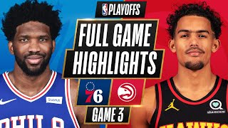 #1 76ERS at #5 HAWKS | FULL GAME HIGHLIGHTS | June 11, 2021