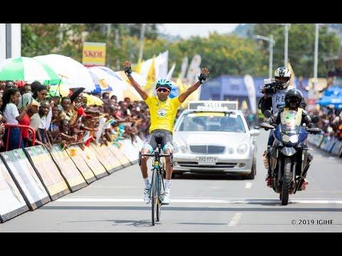 TOUR DU RWANDA STAGE 3 : HUYE - RUBAVU||  Merhawi Kudus WINS AGAIN
