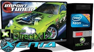 XENIA DX12 [Xbox 360] - Import Tuner Challenge [Ingame] DirectX12-ROV #1