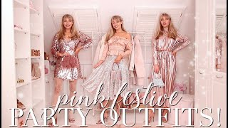 10 Fabulous Festive PINK Party Outfits! ~ Freddy's Fashion Month ~ Freddy My Love