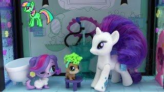 LPS салон красоты Зоуи Трент! Май Литл Пони Мультик от Kiwi Show! Littlest Pet Shop