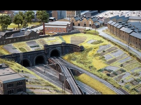 The London Festival of Railway Modelling 2017 – 4K