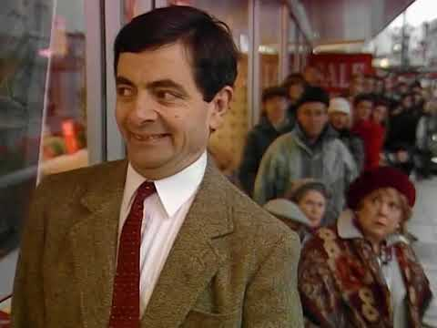 Bean Can't Wait   Funny Clips   Mr Bean Official