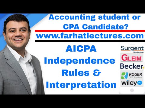 AICPA Independence Rule And Interpretation | Auditing And Attestation | CPA Exam