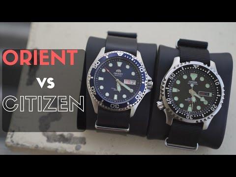 Orient Blue Ray II vs Citizen Promaster NY0040