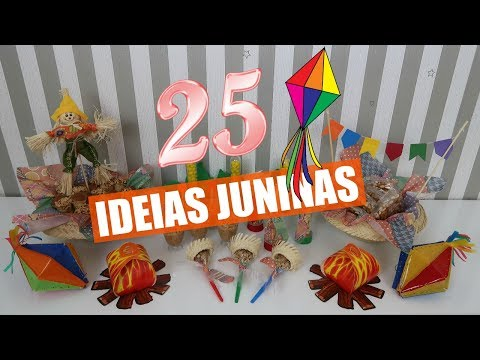 25 IDEIAS INCRÍVEIS PARA FESTA JUNINA Por Glaucia Sioli