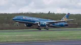 Lễ chào mừng tàu bay B787-9 đầu tiên của Vietnam Airlines tại Washington DC,