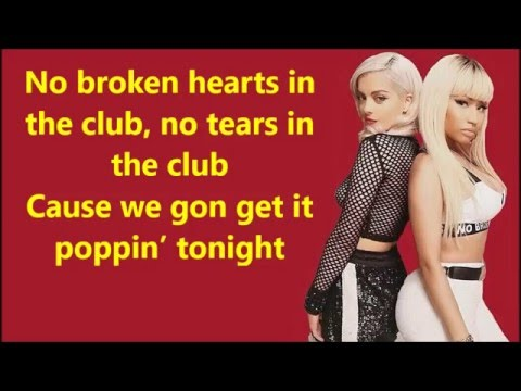 Bebe Rexha - No Broken Hearts (Clean) ft. Nicki Minaj