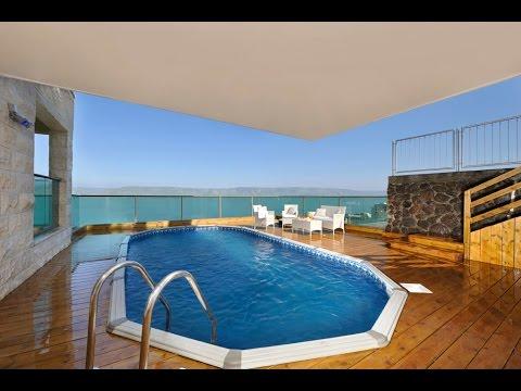Royal Views Hotel Tiberias- מלון צימר בטבריה עם בריכה