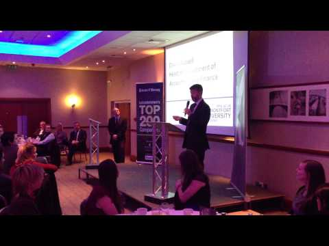 Top 200 Leicestershire Companies (video 2)
