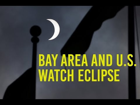 Bay Area and U.S. watch eclipse